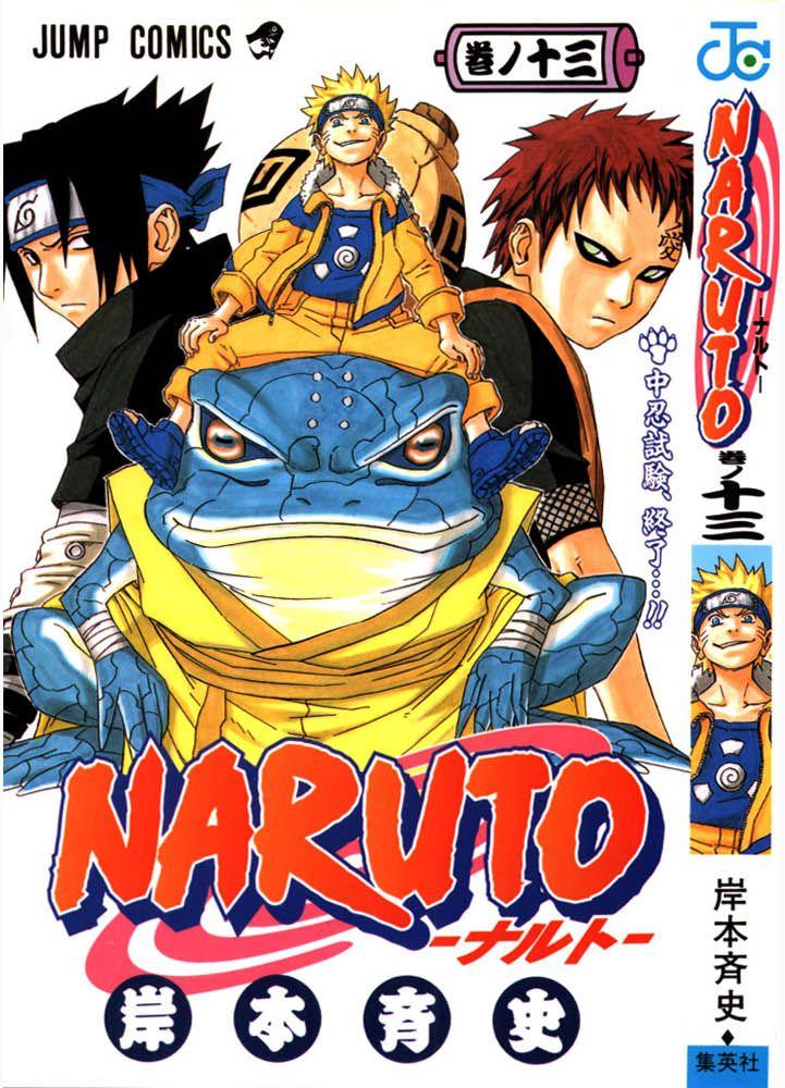 Naruto manga volume 13