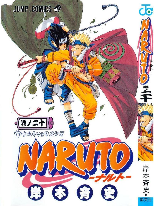 Naruto manga volume 20