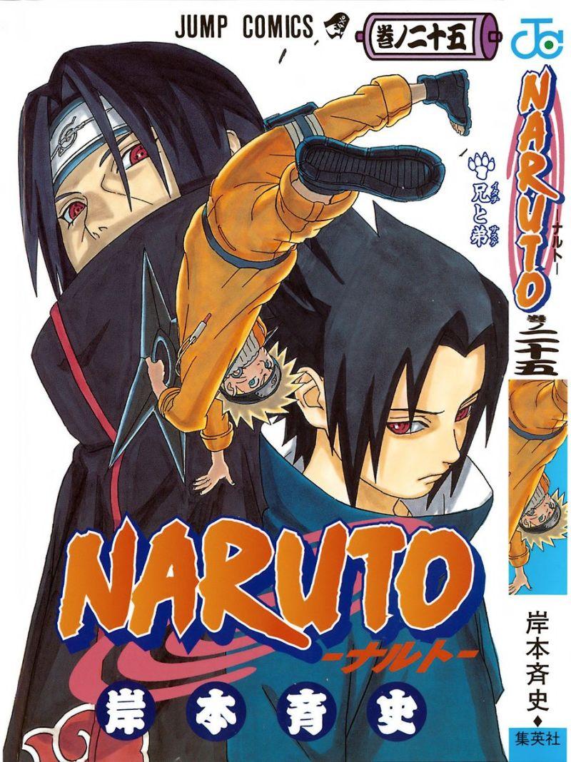 Naruto manga volume 25