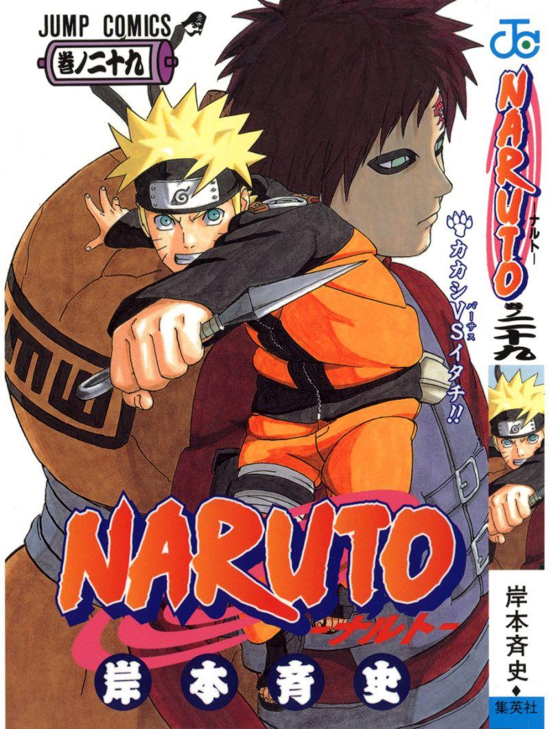 Naruto manga volume 29