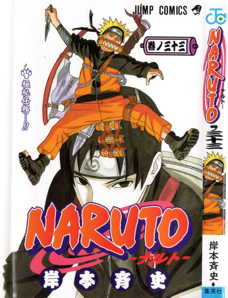 Naruto manga volume 33