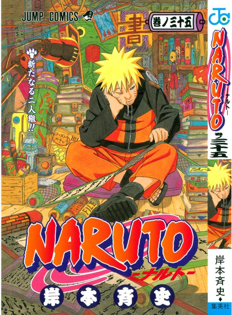 Naruto manga volume 35