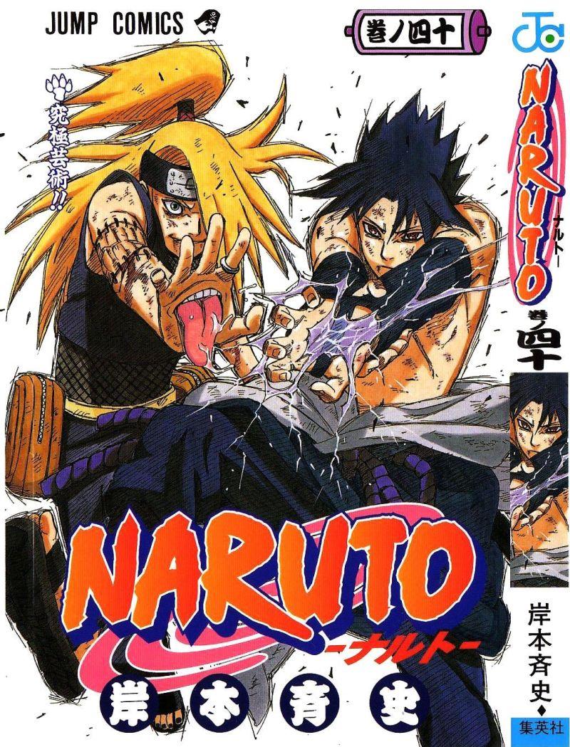 Naruto manga volume 40