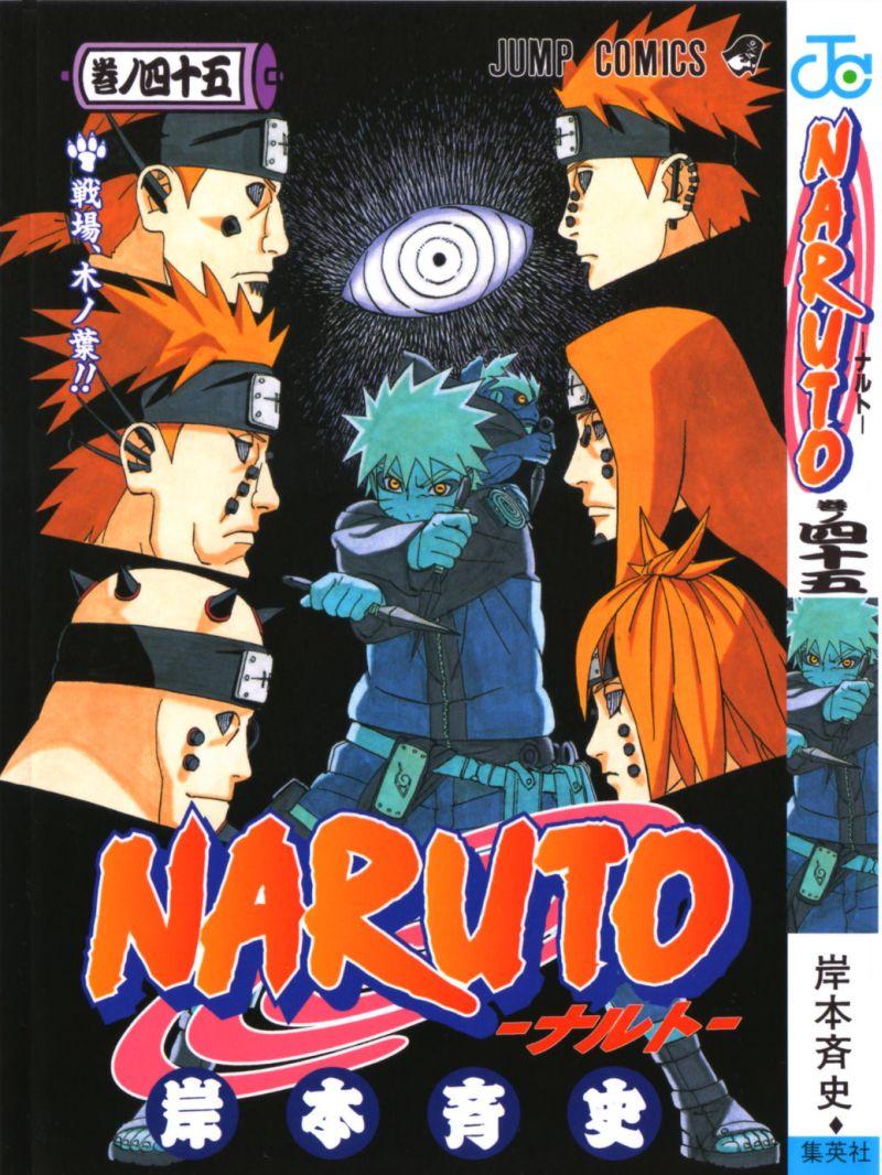 Naruto manga volume 45