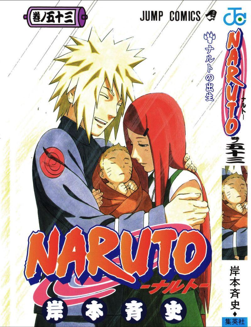 Naruto manga volume 53