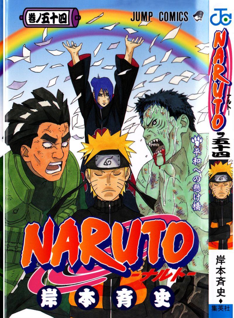 Naruto manga volume 54