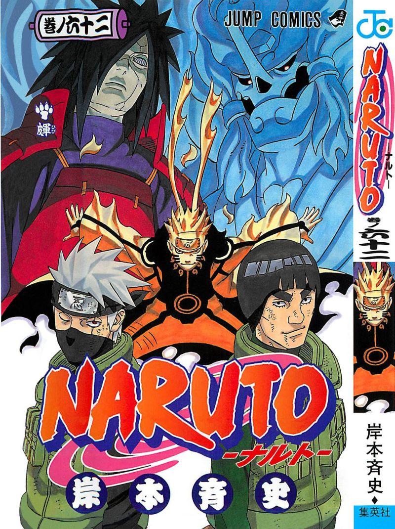 Naruto manga volume 62