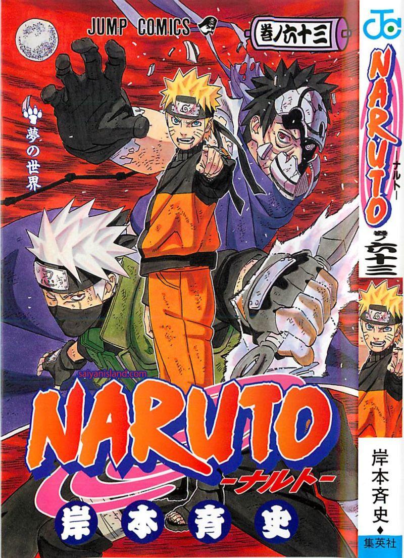 Naruto manga volume 63