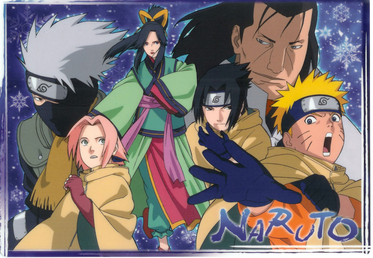 Naruto Movie card