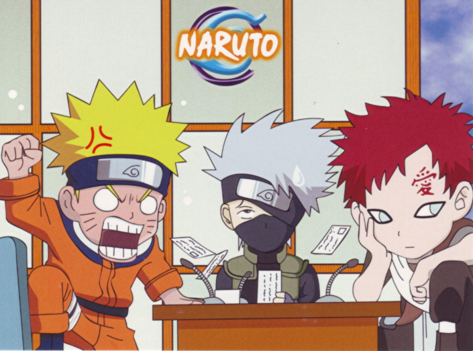 Gaara and Naruto as babies