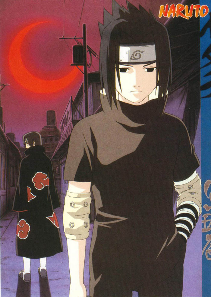 Itachi leaves