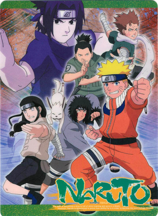 Naruto his teammates