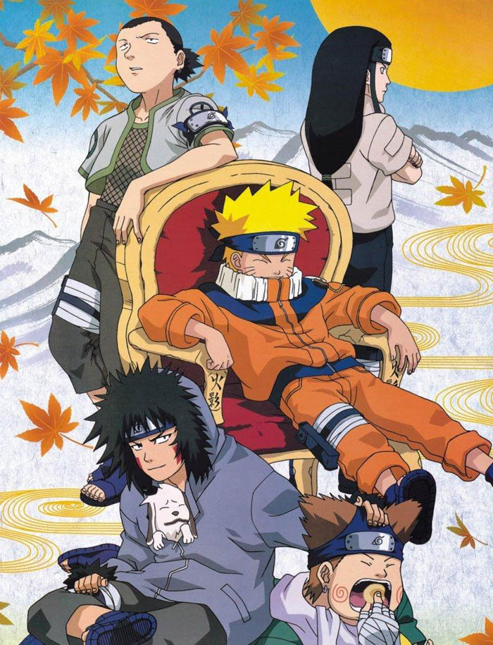 Naruto naps
