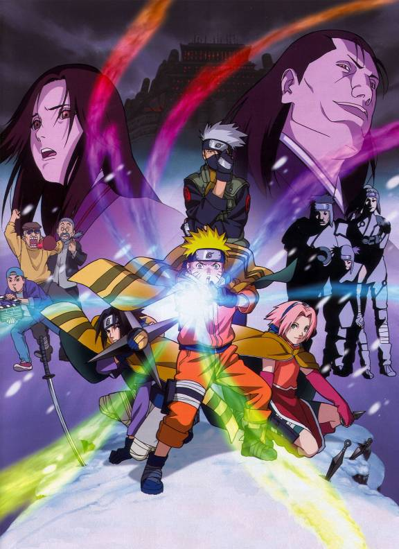 Naruto movie poster