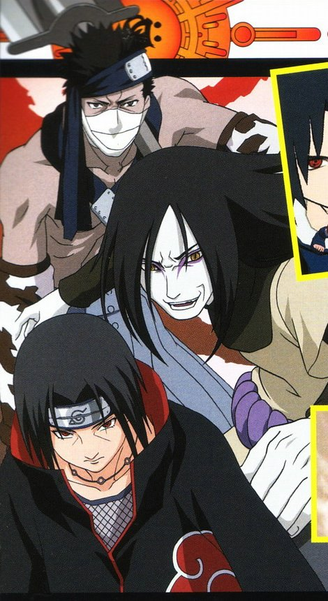 Orochimaru gets a hold of Sasuke
