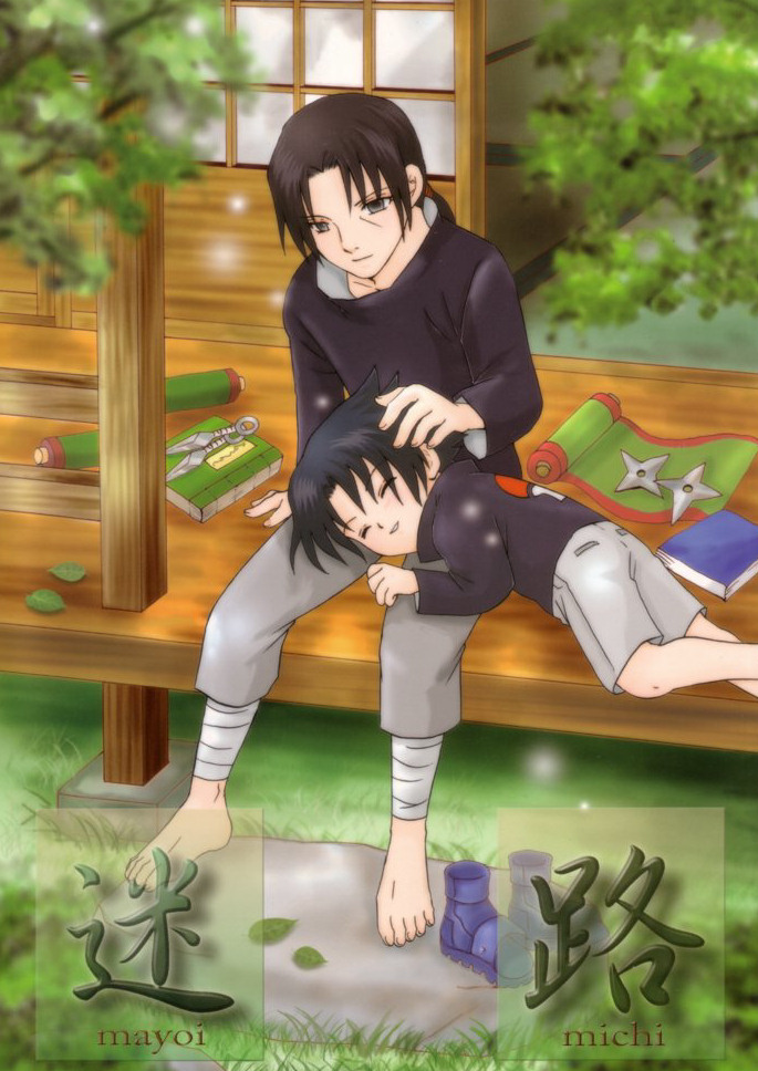 Sasuke takes a nap