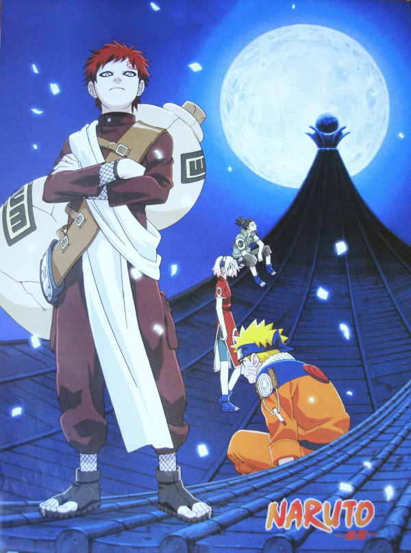 Gaara and the Moon