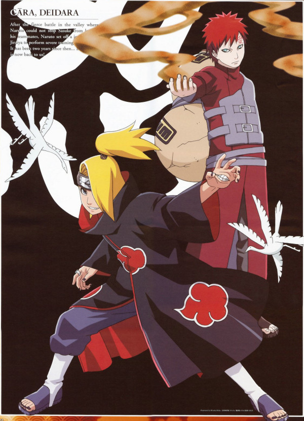 Gaara and Deidara