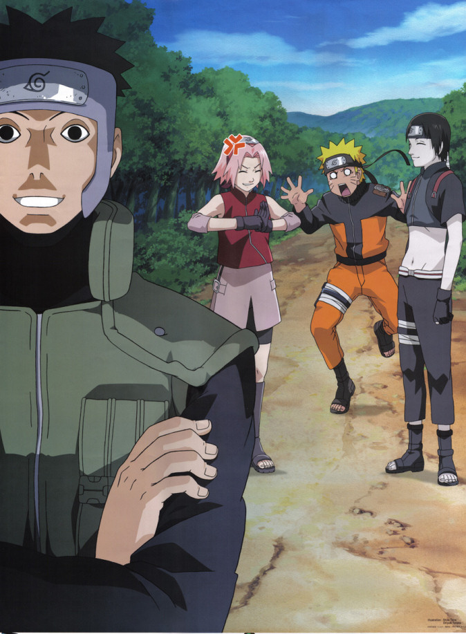 Sai and Yamato catch Sakura''s eye