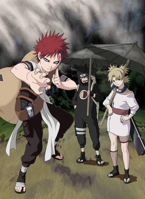 Sand village ninjas!