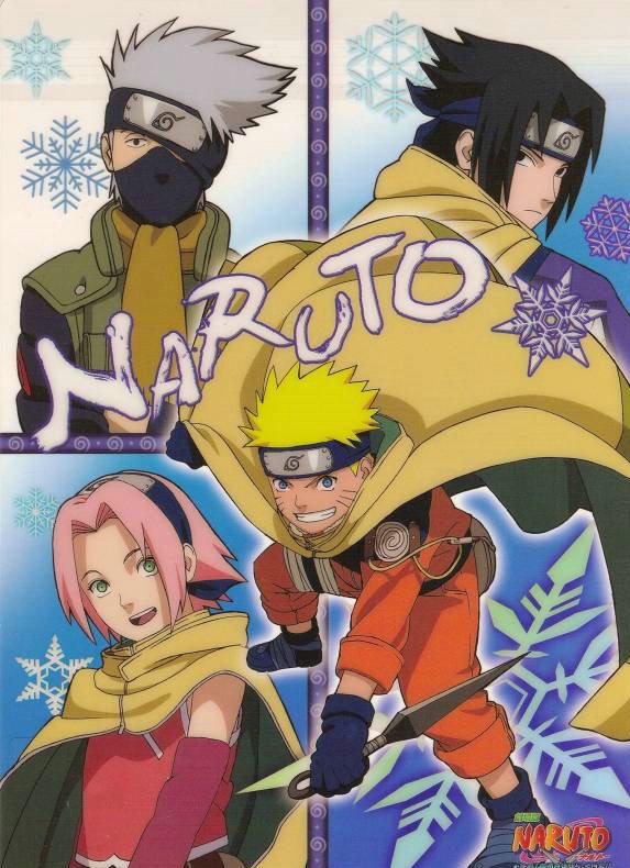 Naruto X-Mas card