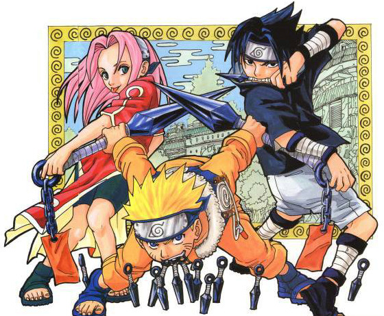 Team 7 plays with throwing knives and paper bombs