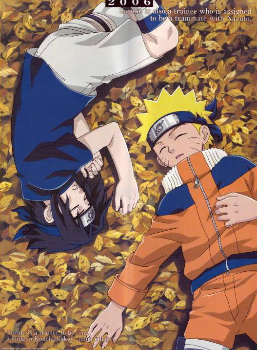 Sasuke and Naruto take a nap