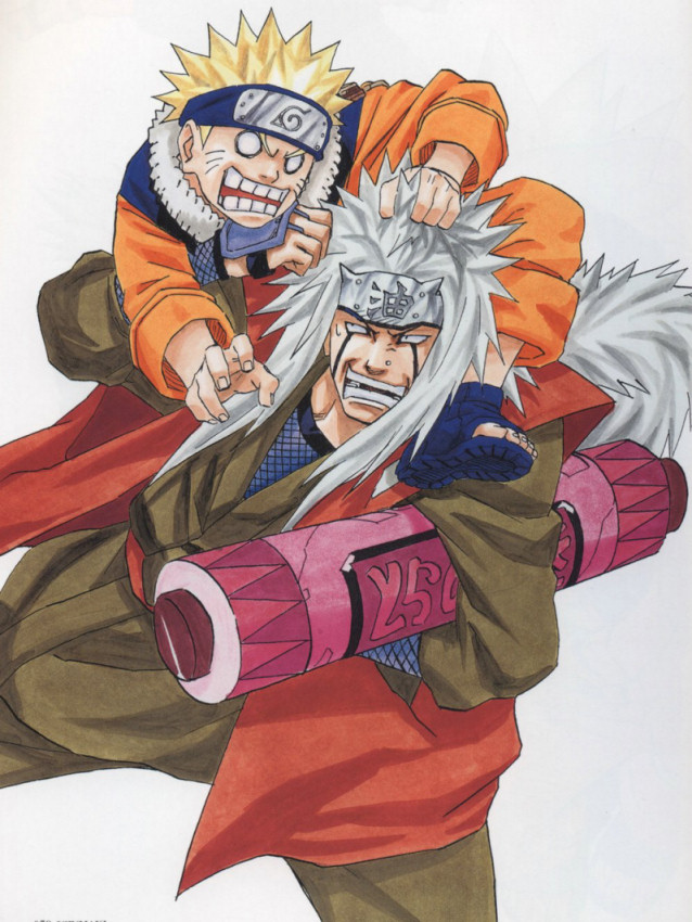 Jiraiya is in charge