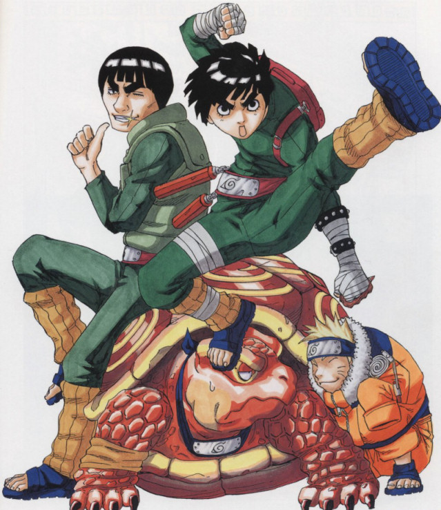 Rock Lee is always training