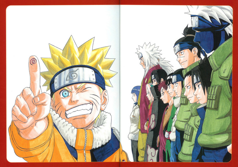 Naruto with all the main characters