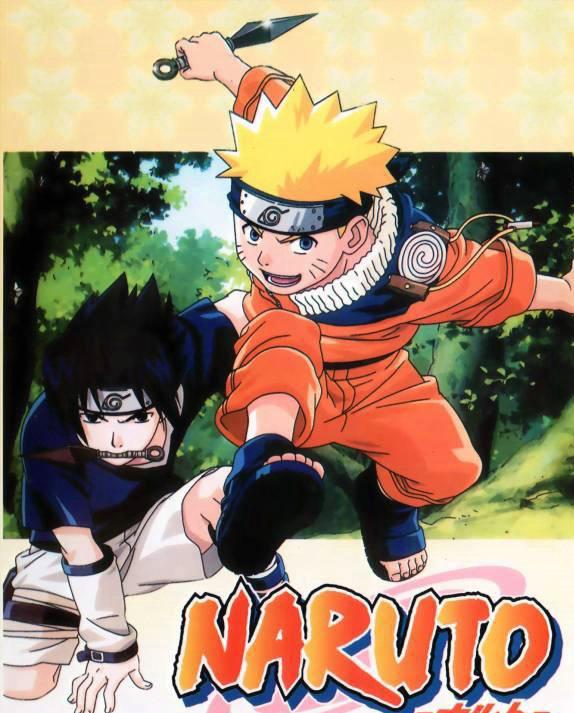 Naruto with Sasuke