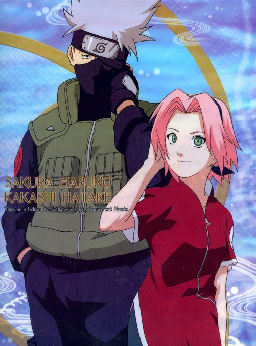Sakura and Kakashi